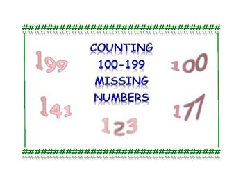 Worksheets Missing Numbers 100-199