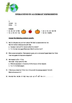 Worksheets Package of Secondary Math