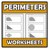 Worksheets - Perimeters - Perímetros