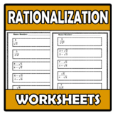 Worksheets - Rationalization