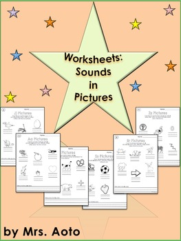Worksheets: Sounds in Pictures