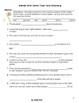 Worksheets: Vocabulary Skill Using Multi-Meaning Words in Baseball Story Context