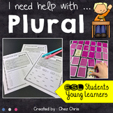 Worksheets and Memory Game - Grammar : Plural nouns - regu