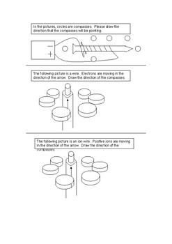Worksheets and exam questions for HS Electricitymagnetism topic