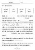 Worksheets for BELINDA by Pamela Allen - Comprehension & Vocab Focus
