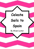 Worksheets for CELESTE SAILS TO SPAIN by Alison Lester - Comprehension & Vocab