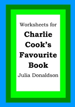Worksheets For Charlie Cook S Favourite Book Julia