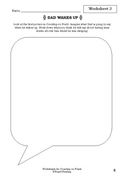 Worksheets for COUNTING ON FRANK - Rod Clement - Picture Book - Literacy