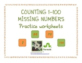Worksheets for Counting 1 to 100 with Missing Numbers