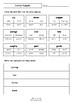 Worksheets for DIMITY DUMPTY by Bob Graham - Comprehension & Vocab Focus