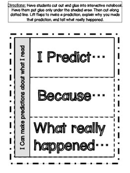 Worksheets for ELA Interactive Notebooks Grades K-3- aligned with CCSS