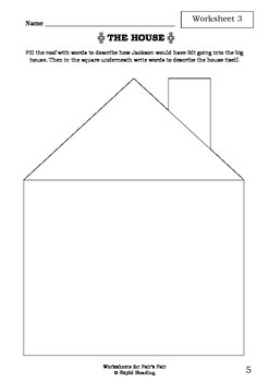 Worksheets for FAIR'S FAIR - Leon Garfield - Picture Book - Literacy