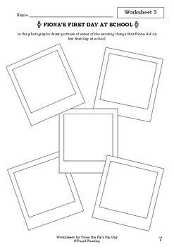 Worksheets for FIONA THE PIG'S BIG DAY - Leigh Hobbs - Picture Book Literacy