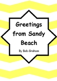 Worksheets for GREETINGS FROM SANDY BEACH by Bob Graham -