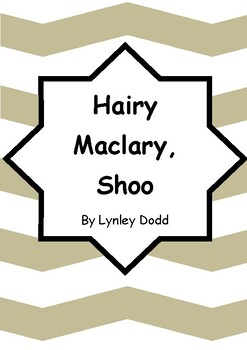 Worksheets for HAIRY MACLARY, SHOO by Lynley Dodd - Vocab