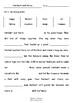 Worksheets for HERBERT AND HARRY by Pamela Allen - Comprehension & Vocab