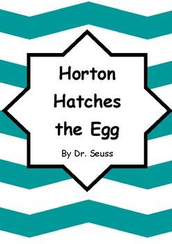 Horton Hatches The Egg Worksheets - horton hatches the egg ...