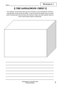 Worksheets for ISABELLA'S BED - Alison Lester - Picture Book - Literacy