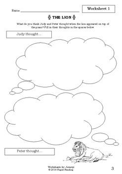 Worksheets for JUMANJI - Chris Van Allsburg - Picture Book - Literacy