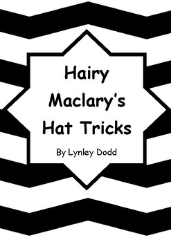 Worksheets for HAIRY MACLARY'S HAT TRICKS by Lynley Dodd - Comprehension
