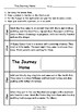 Worksheets for THE JOURNEY HOME by Alison Lester - Comprehension & Vocab Focus