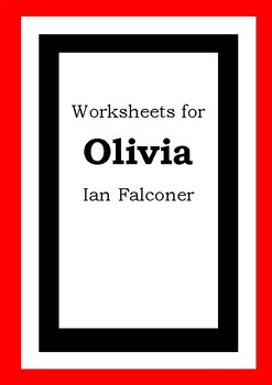Worksheets for OLIVIA - Ian Falconer - Picture Book Literacy
