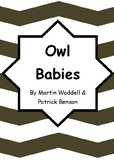 Worksheets for OWL BABIES by Martin Waddell & Patrick Benson - Comprehension