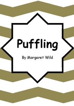 Worksheets for PUFFLING by Margaret Wild & Julie Vivas - Literacy Comprehension