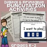 Worksheets for Punctuation Digital BUNDLE!