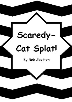 Worksheets for SCAREDY-CAT SPLAT! by Rob Scotton - Comprehension