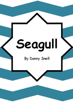 Worksheets for SEAGULL by Danny Snell - Comprehension & Vocab Focus