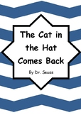 Worksheets for THE CAT IN THE HAT COMES BACK by Dr. Seuss