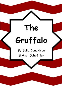 Worksheets for THE GRUFFALO by Julia Donaldson & Axel Scheffler - Vocab