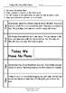 Worksheets for TODAY WE HAVE NO PLANS by Jane Godwin & Anna Walker Comprehension
