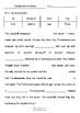 Worksheets for TYRANNOSAURUS DRIP by Julia Donaldson & David Roberts - Vocab