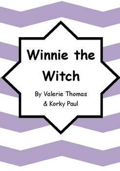 Worksheets for WINNIE THE WITCH by Valerie Thomas & Korky Paul - Comprehension