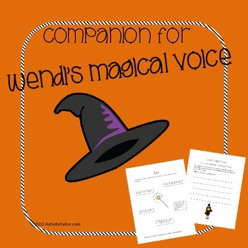 A Companion for Wendi's Magical Voice (stuttering therapy)