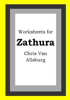 Worksheets for ZATHURA - Chris Van Allsburg - Picture Book