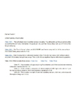 Videos Worksheet for a Blended Chemistry Class - Unit 01 -