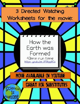 Earth Science: Directed Watching Worksheet: How the Univer