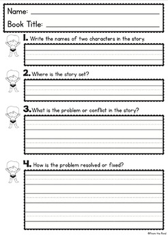 Comprehension Worksheets {Worksheets to Follow Reading}