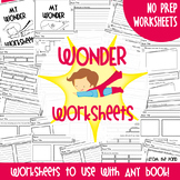 Comprehension Worksheets For Any Book {Worksheets to Follow Reading}