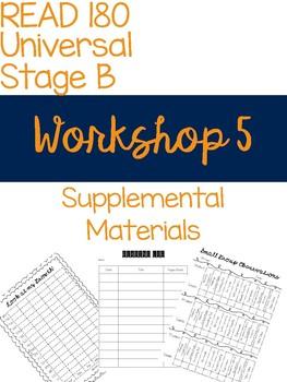 Workshop 5 Supplemental Materials