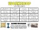 Workshop Behavior Chart
