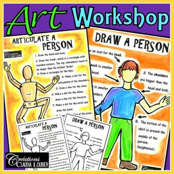 Workshop: How to Draw a Person: Art Lesson
