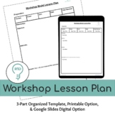 Workshop Lesson Plan Template