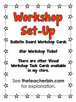 Back to School - Kindergarten -2nd Grade- Special Education-Workshop Set-up