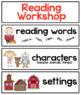 Kindergarten Workshop Signs