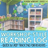 Workshop Style Reading Log - Printable and Google Classroo