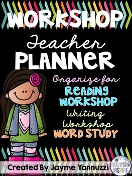 Workshop Teacher Planner